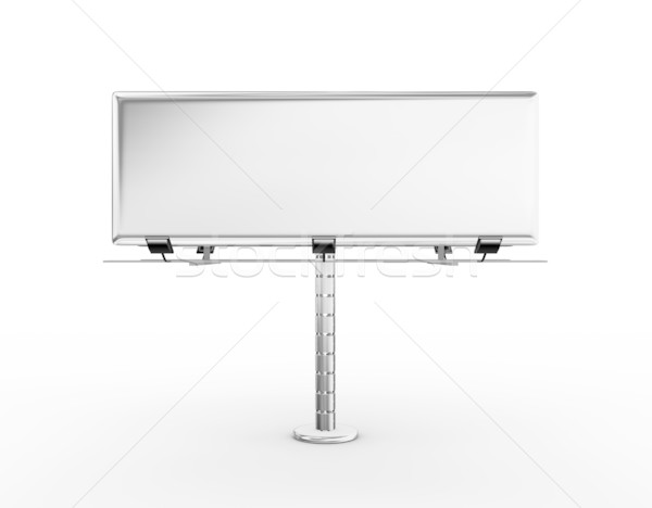 Stock photo: Billboard with place for your text