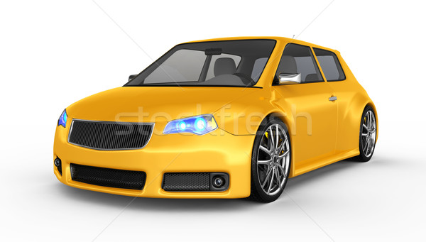 Stock photo: Sports car