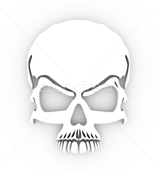 Skull Stock photo © rzymu