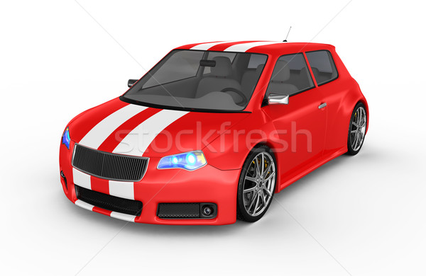 Sports car Stock photo © rzymu