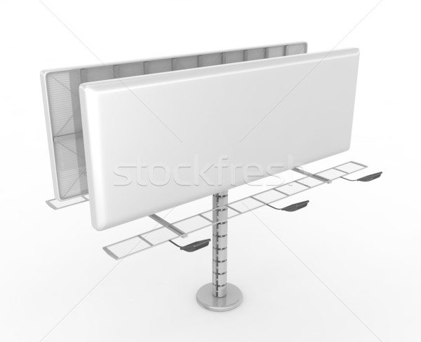 Billboard with place for your text  Stock photo © rzymu