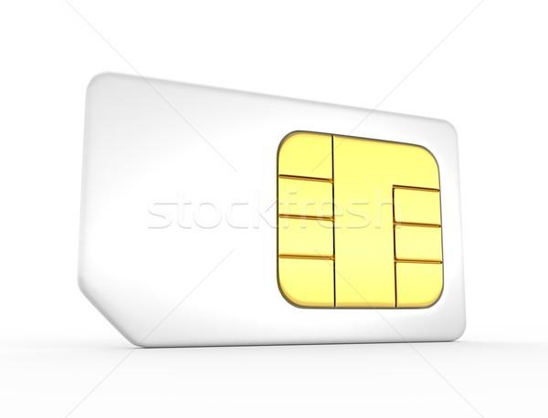 Sim card Stock photo © rzymu