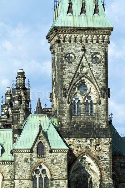 парламент холме Оттава Готский Америки Канада Сток-фото © rzymu