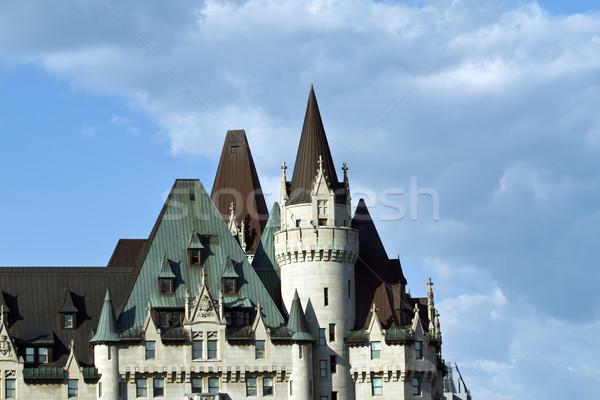 Parlement heuvel Ottawa gothic amerika Canada Stockfoto © rzymu