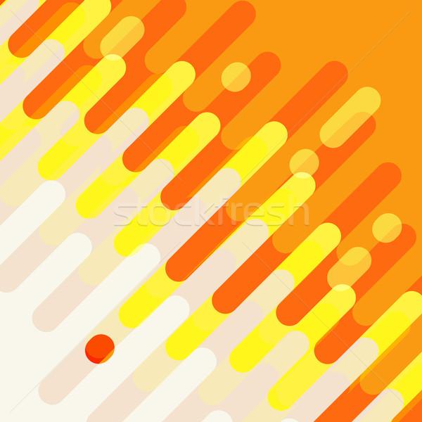 аннотация красочный кривая дизайна вектора обои Сток-фото © sabelskaya