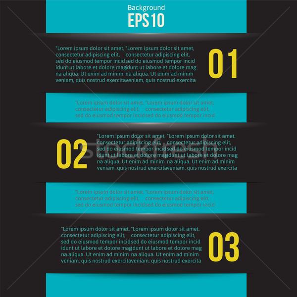 Moderna diseno estilo infografía plantilla disposición Foto stock © sabelskaya