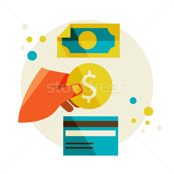 money exchange Stock photo © sabelskaya