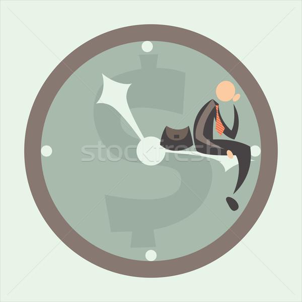 time against business Stock photo © sabelskaya