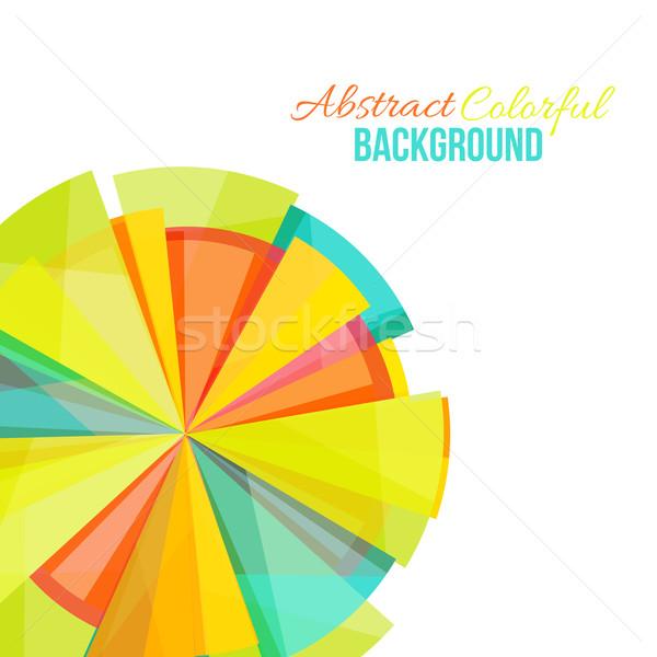 抽象的な カラフル 虹 ビジネス テクスチャ ストックフォト © sabelskaya