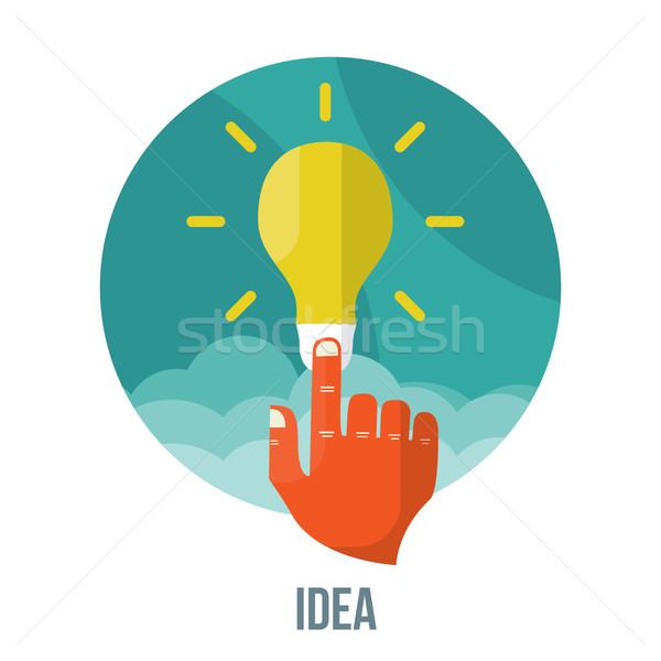 Glühbirne · Symbol · Innovation · Idee · Vektor · wirksam - vektor ...