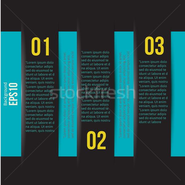 Modernes design style modèle layout Photo stock © sabelskaya