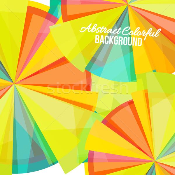 Abstract kleurrijk regenboog business textuur Stockfoto © sabelskaya