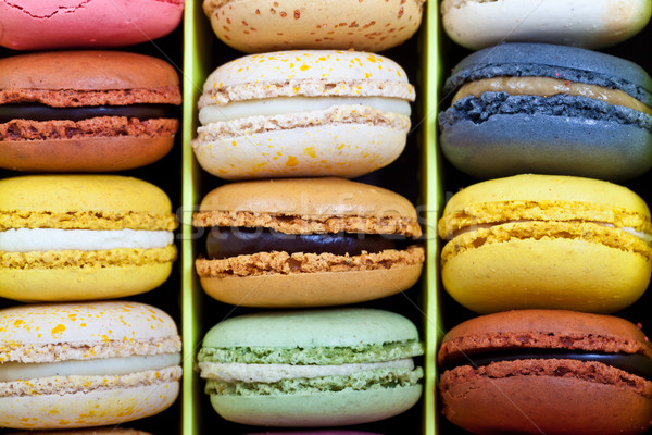 French macarons Stock photo © sabinoparente