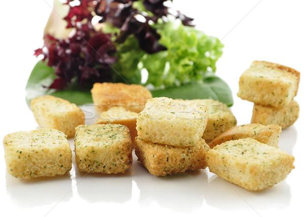 Ensalada hojas textura alimentos estilo de vida Foto stock © saddako2
