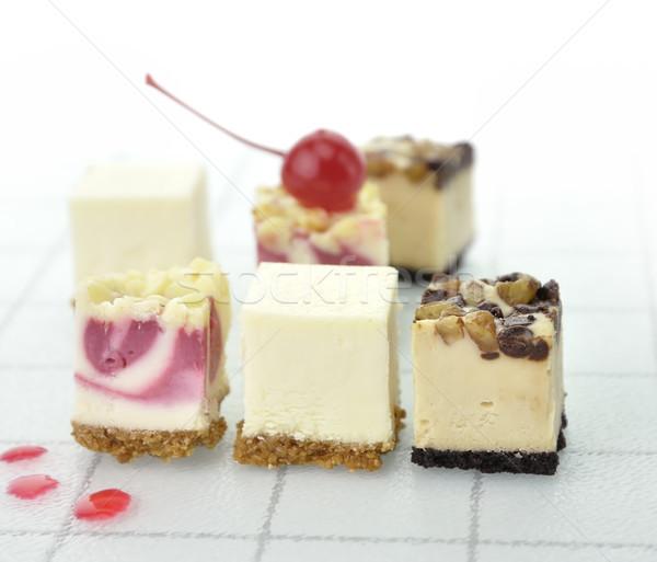 Cheesecake Slices Stock photo © saddako2