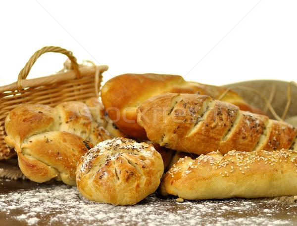 fresh homemade bread assortment  Stock photo © saddako2