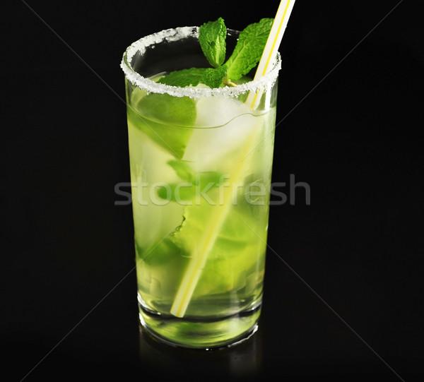 Bevanda fredda cocktail calce menta party Foto d'archivio © saddako2