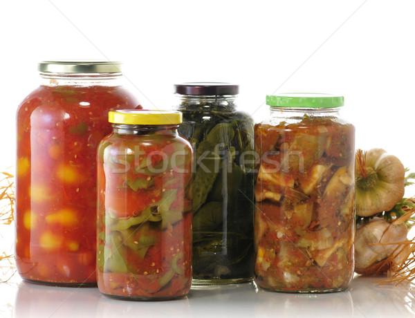 homemade preserves Stock photo © saddako2