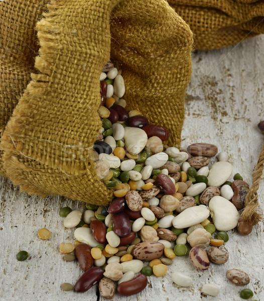 Beans Mix Stock photo © saddako2