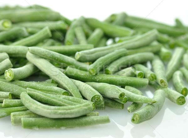 frozen Green beans  Stock photo © saddako2