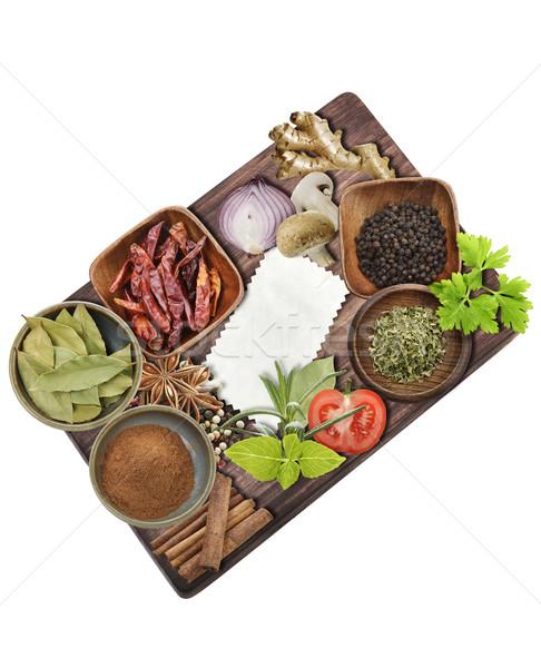 Cooking Ingredients Stock photo © saddako2