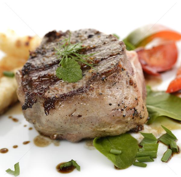 Bacon Wrapped Beef Fillet Stock photo © saddako2