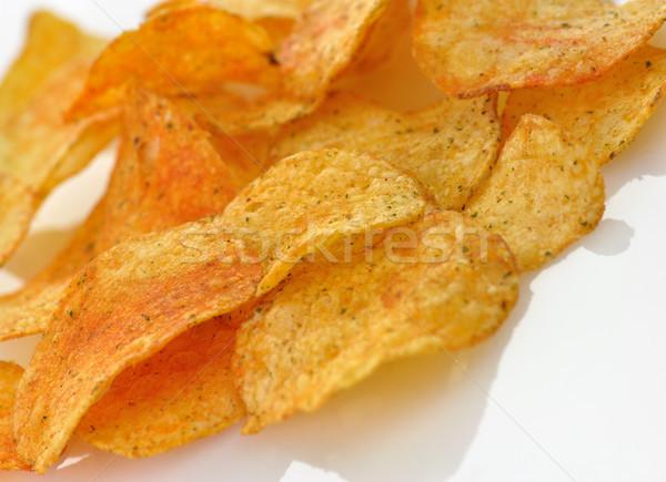 potato chips Stock photo © saddako2