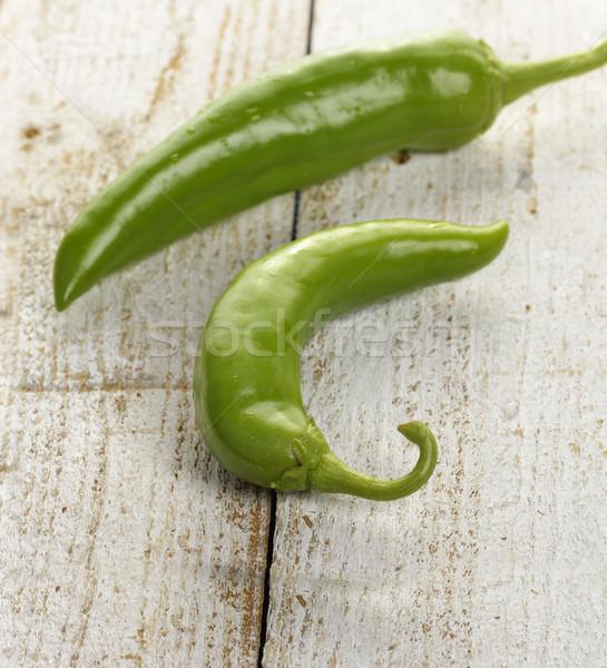 Green Pepper Stock photo © saddako2
