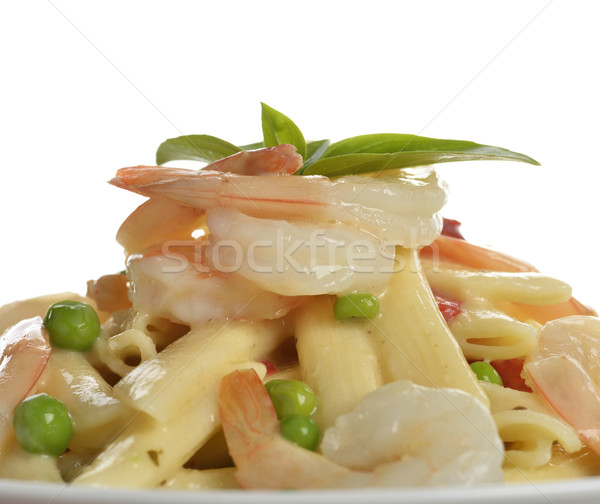 Stock photo: Pasta With Shrimps