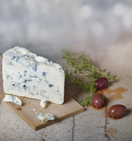 Blue Cheese and Olives Stock photo © saddako2