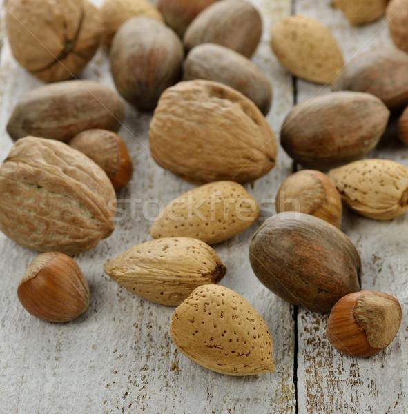 Nuts Mix Stock photo © saddako2