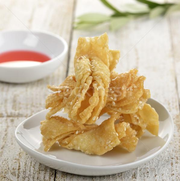 アジア クッキー 甘い プレート ストックフォト © saddako2
