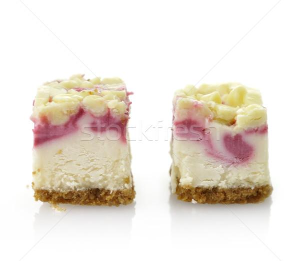 Raspberry Cheesecake Stock photo © saddako2