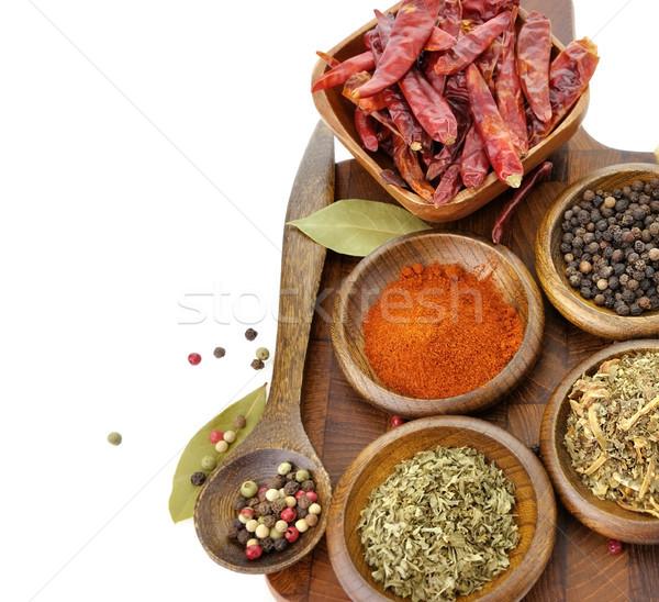 Stock photo: Spices Assortment