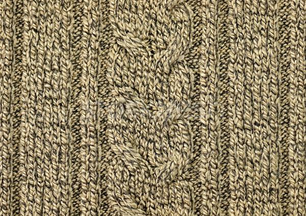Knitted woolen background Stock photo © saddako2
