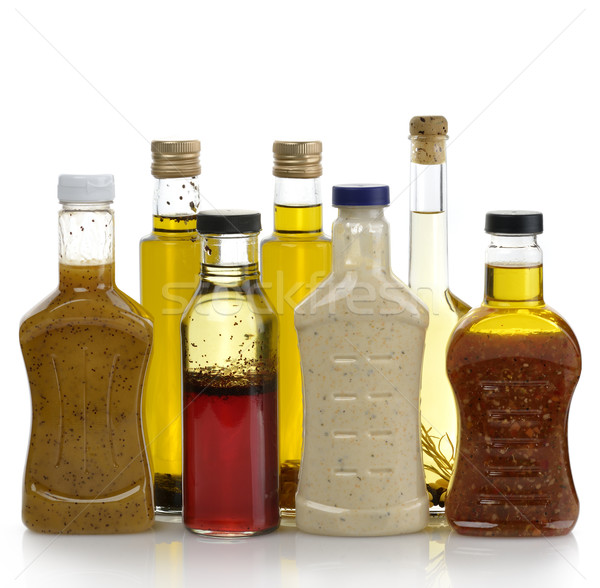 Salad Dressings And Olive Oil Stock photo © saddako2
