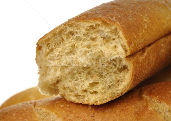 Branco escuro pão pão grão marrom Foto stock © saddako2