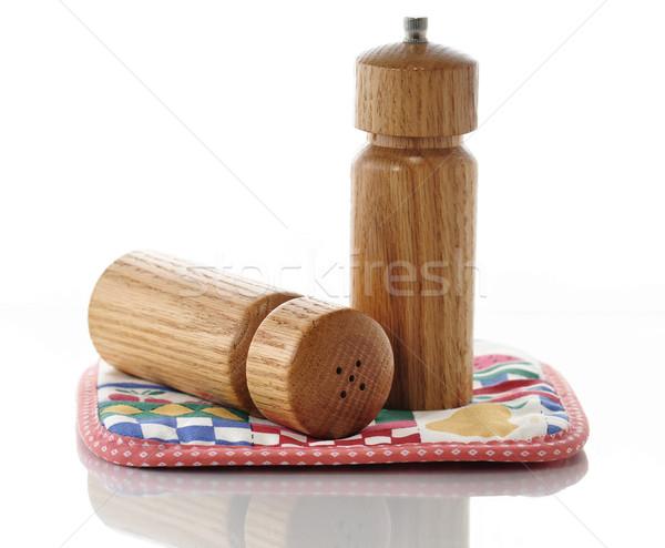 salt and pepper shakers Stock photo © saddako2