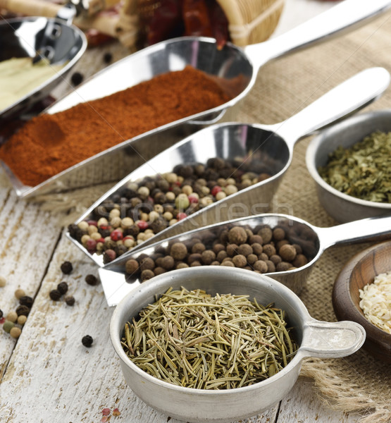Spices And Herbs Stock photo © saddako2