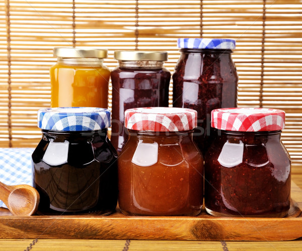 jam in the jars Stock photo © saddako2