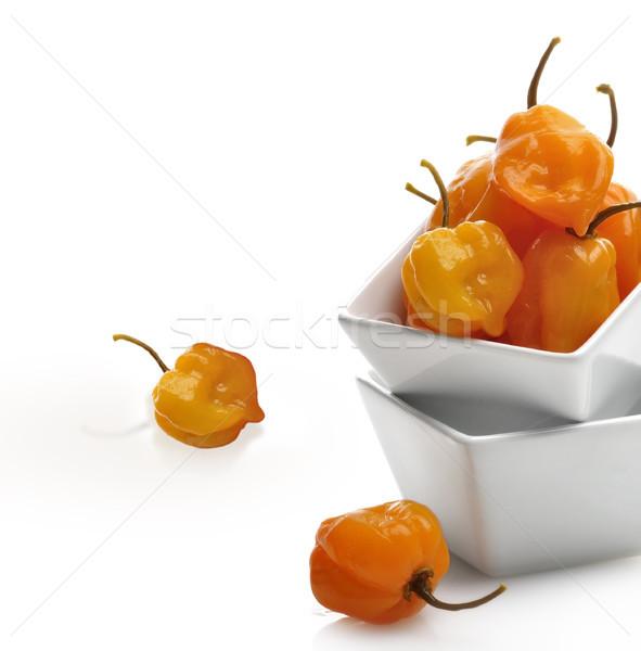 Hot Yellow Pepper Stock photo © saddako2