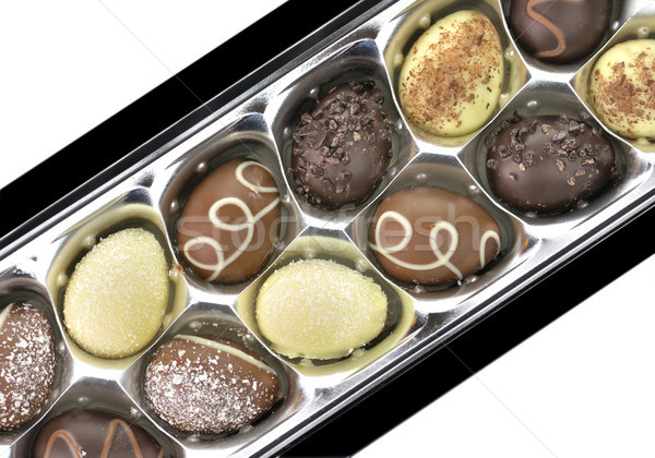 chocolate eggs Stock photo © saddako2