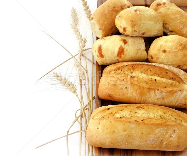 хлеб французский хлеб белый Сток-фото © saddako2