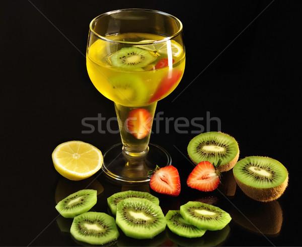 fruit jello Stock photo © saddako2