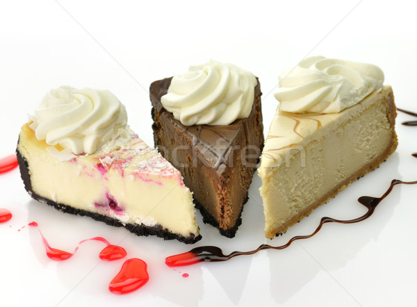 slices of cheesecake  Stock photo © saddako2