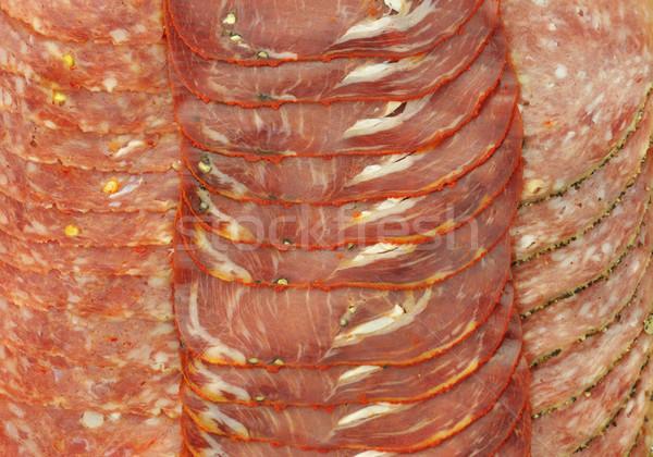 smoked meat Stock photo © saddako2