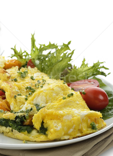 Omelet With Vegetables Stock photo © saddako2