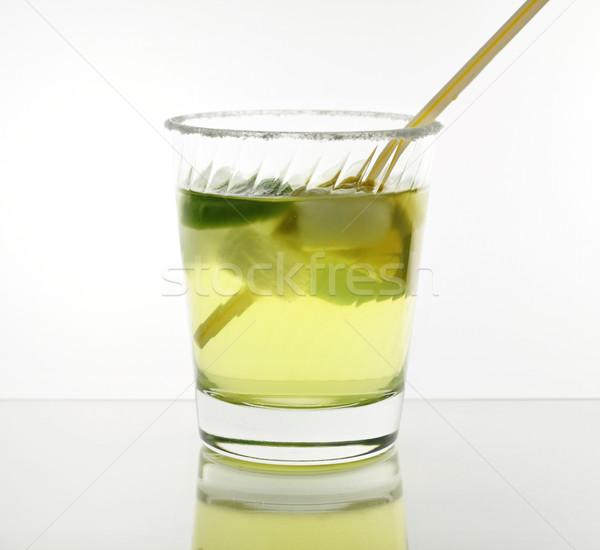 Bebida fria frio coquetel limão festa Foto stock © saddako2