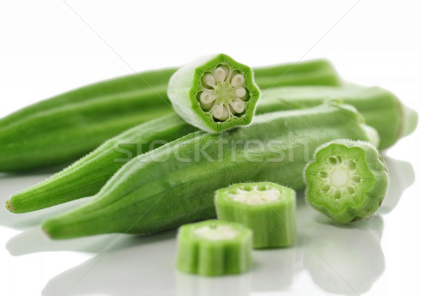fresh okra Stock photo © saddako2