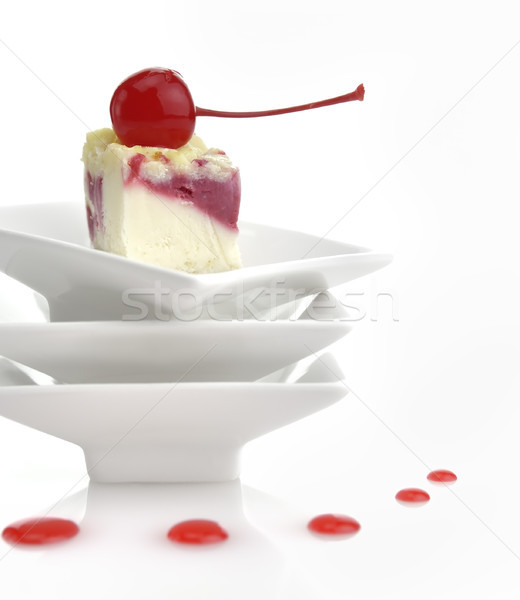 Cheesecake Slice Stock photo © saddako2